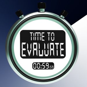 Time To Evaluate: Assessing And Reviewing