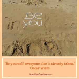 """Be yourself; everyone else is already taken."" Oscar Wilde"