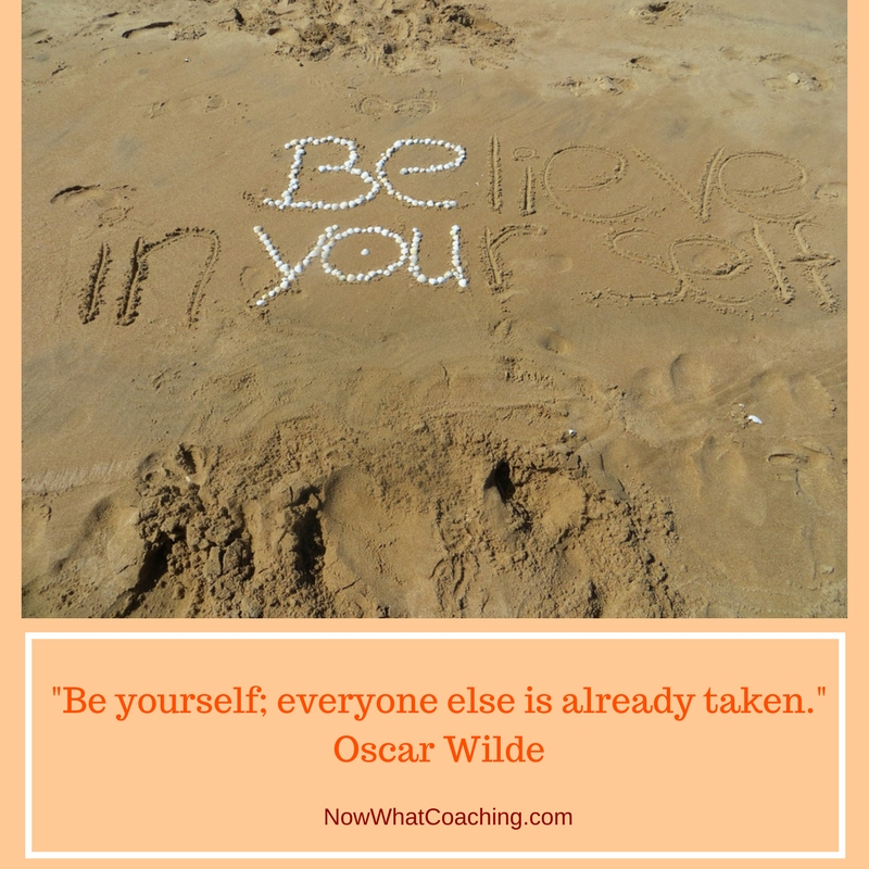 """Be yourself; everyone else is already taken."" Oscar Wilde"