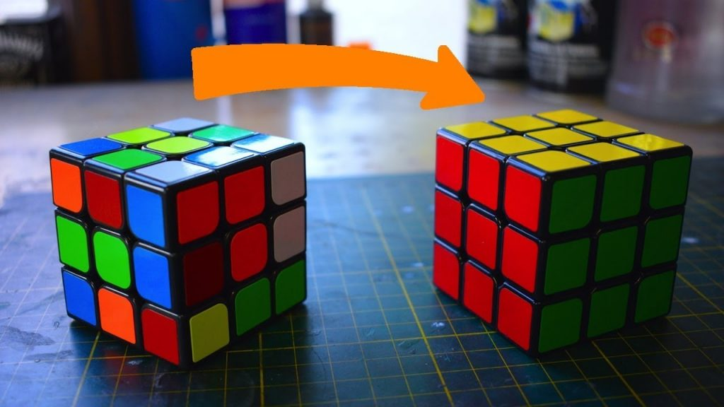 Rubik's Cube and integrity in your work
